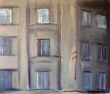 Bez názvu, 2008,80x95 cm,akryl na plátně