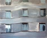Bez názvu, 2008, 80x100 cm, akryl na plátně