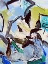 Z cyklu Graffiti, olej/plátno, 200×160 cm, 2004