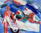 Tak chutná svoboda, olej/plátno, 160×200 cm, 1999