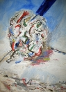 Drůza, olej/plátno, 120×100 cm, 2002
