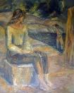 Ohlédnutí, olej/plátno, 1971