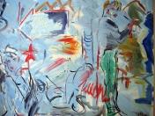 Graffiti, olej/plátno, 160×200 cm, 2003