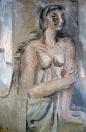 Portrét ženy, olej/plátno, 115×79 cm, 1977