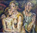 Trojportrét, olej/plátno, 100×115 cm, 1975