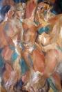 Divošky, olej/papír, 108×75 cm, 1976