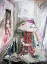 Zátiší, olej/plátno, 145×115 cm, 1995