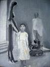 Rodina, olej/plátno, 81×65 cm, 1986