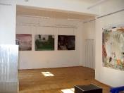 Pohled do výstavy Štefan Tóth, Der Spielplatz, v Galerii Michal's Collection